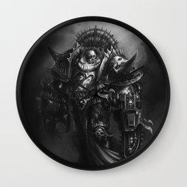 Champion Of Chaos Undivided Wall Clock