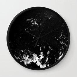 Black Marble #8 #decor #art #society6 Wall Clock