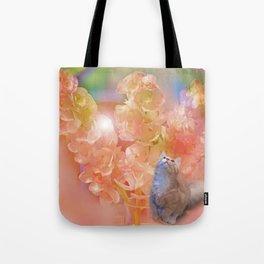 Whimsical Kitten Tote Bag