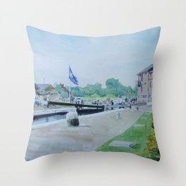 Stoke Bruerne Throw Pillow