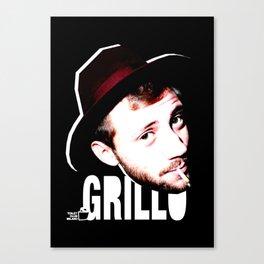 TOILET CLUB #grillo Canvas Print