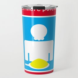 Eat more polenta Travel Mug