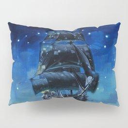 Black Pearl Starry Night Pillow Sham