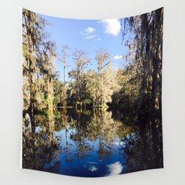 Mirror Swamp Charleston Plantation Wall Tapestry
