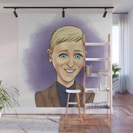 Cartoon Ellen Wall Mural