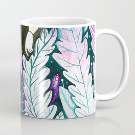 girl in the woods Coffee Mug