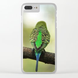 Parakeet Clear iPhone Case