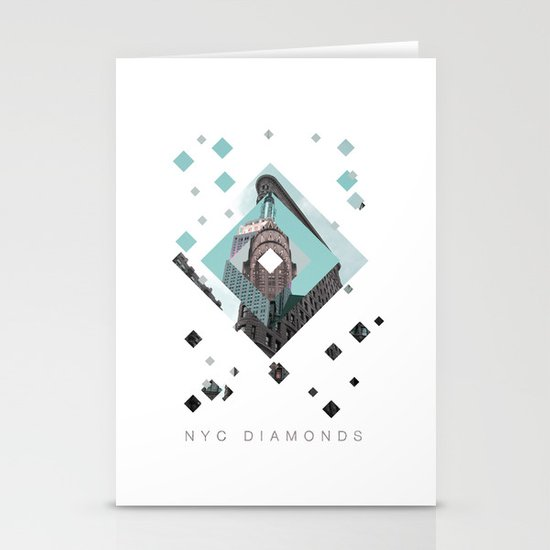 New York City Diamonds Stationery Cards