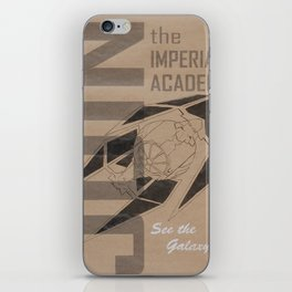 Join The Imperial Academy! iPhone Skin