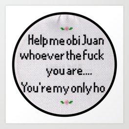 Obi Juan Art Print