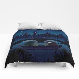 Hedgehogs in the night Comforters