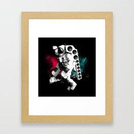 Basstronaut Framed Art Print