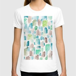 5  | 200130 | Watercolor Painting | Abstract Art | Abstract Pattern | Watercolor Art T-shirt