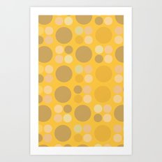 Lots o dots Art Print