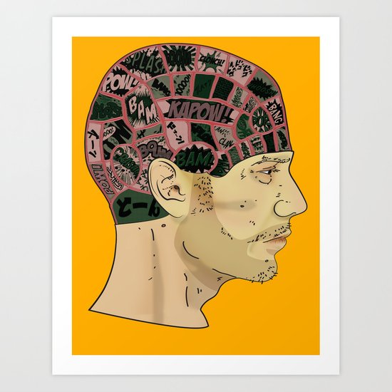 PHRENOLOGY Art Print