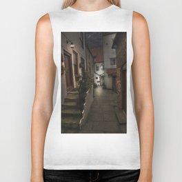 Alleyway in Whitby, home of Dracular!! Biker Tank