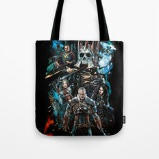 The Witcher Wild Hunt Tote Bag