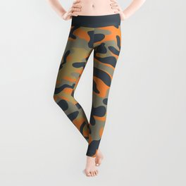 Military camouflage pattern 16 Leggings