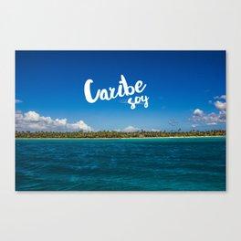 Caribe Soy Canvas Print