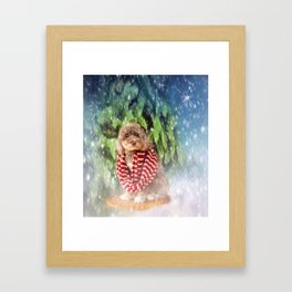 Olive Framed Art Print
