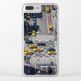 Tiny City Clear iPhone Case