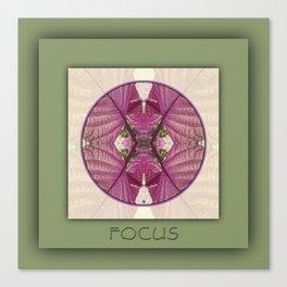 Focus Manifestation Mandala No. 5 Canvas Print