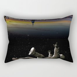 See you earth Rectangular Pillow