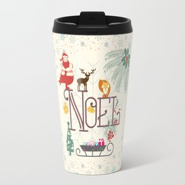 Christmas Noel Travel Mug