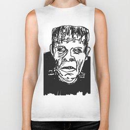 Frankenstein's Monster Biker Tank