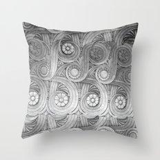 Limestone Garden Throw Pillow