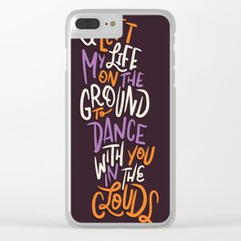 Dance With You Clear iPhone Case
