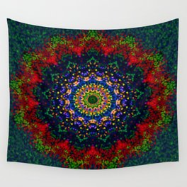 Symmetric composition 2 Wall Tapestry