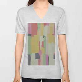 Abstract Painting No. 1 Unisex V-Neck