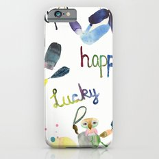 No. 635-G- Single Super Happy Lucky. Slim Case iPhone 6s