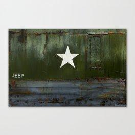 Jeepstar Canvas Print