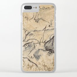 Aurignacian Art Clear iPhone Case