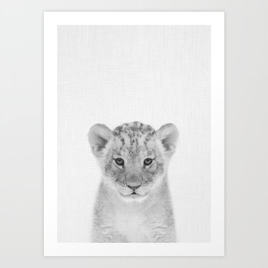 Baby Lion by taiprints