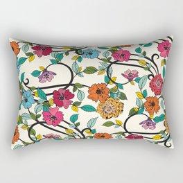 Fleurs Rectangular Pillow