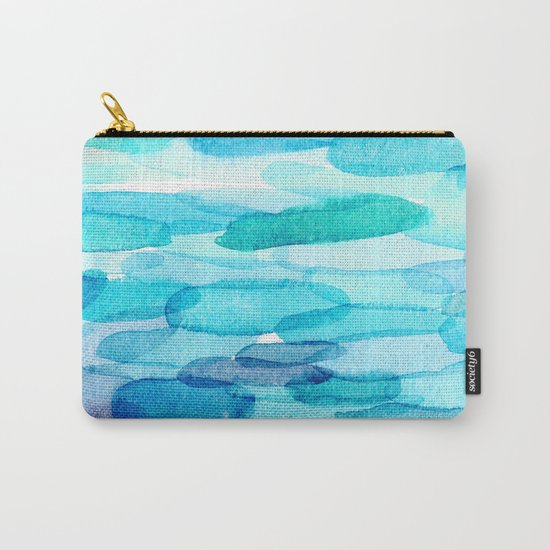 Watercolor folk  Carry-All Pouch