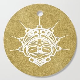 Spirit Frog Sand Cutting Board