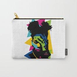 basquiat color jean michel Carry-All Pouch