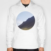 iceland Hoodies featuring Obliquo, Iceland by Mara Brioni Art Photography