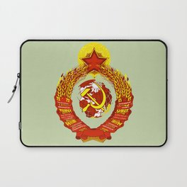 STATE OF THE EMBLEM OF THE  SOVIET UNION  Laptop Sleeve