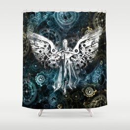 Clockwork Angel  Shower Curtain