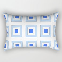 Tribute to mondrian 5- piet,geomtric,geomtrical,abstraction,de  stijl , composition. Rectangular Pillow