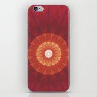 kaleidoscope iPhone & iPod Skins featuring kaleidoscope by UiNi