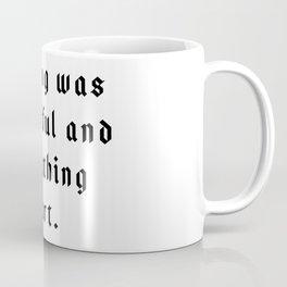 The Pessimist Coffee Mug