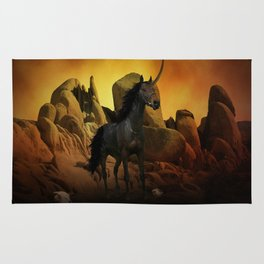 The Dark Unicorn Rug