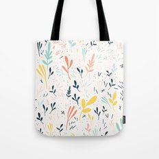 Plants and spikes Tote Bag