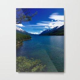 Patagonian River Metal Print
